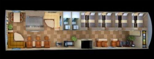 O abrigo será construído em um espaço de 1.800 metros quadrados