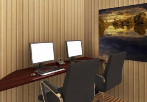 Os abrigos contam até com computadores e conexão à internet. Bem, prevendo que algum site ainda esteja operando...