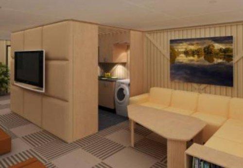 Os interessados em morar nesse abrigo terão que desembolsar US$ 50 mil ( R$ 88 mil)